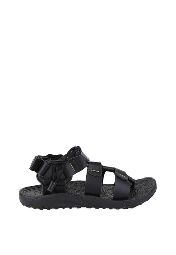 EKAN black Hannover Sandals EK228SH0FILRSG_1