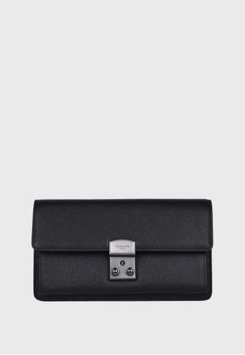 Tocco Toscano black Pomino Flap Clutch (Black) TO281AC70ZNHSG_1