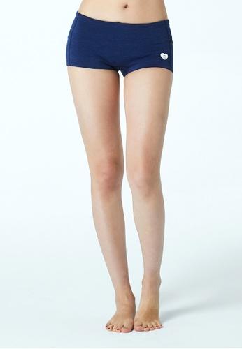 BARREL Women Wave Neoprene Short Pants Navy BA307US33PBMSG_1