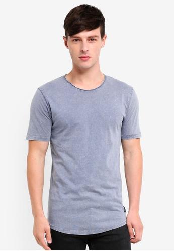 Only & Sons 灰色 素色T恤 72F6CAA2A0E3FCGS_1