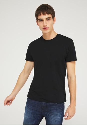 Sisley black Printed T-shirt EC404AA62C834CGS_1