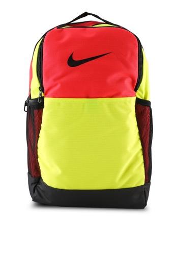 Nike red Brasilia 9.0 Training Backpack B6930AC7999E12GS_1