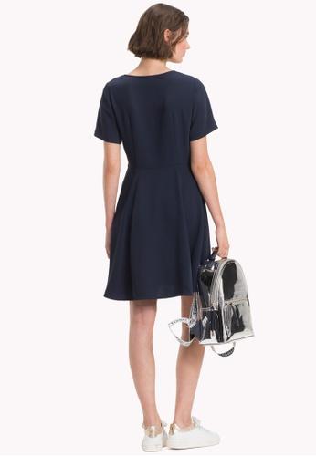 Buy Tommy Hilfiger SOFIE V-NK DRESS SS Online on ZALORA ... e9de797e45