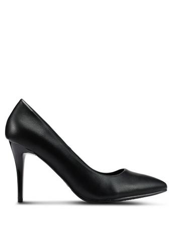 BETSY 黑色 Acia Court Heels 3D9A5SH53065E4GS_1