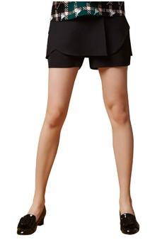 【ZALORA】 OUWEY歐薇 都會簡約時尚百搭褲裙