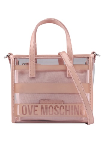 Love Moschino pink LOVE MOSCHINO Tote Bag LO478AC0SXXPMY_1