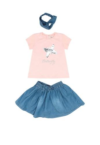 Babybol pink Baby's 2 Piece Set and Headband 98881KAEDB79D9GS_1