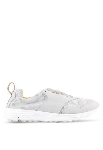 Rawrow grey Wax 100 Chamude Sneakers RA312SH0RQM4MY_1
