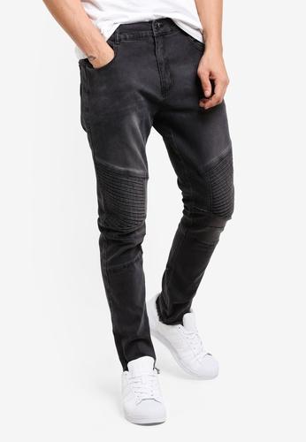 Flesh IMP 黑色 Howlett Black Denim Jeans FL064AA78FCRMY_1