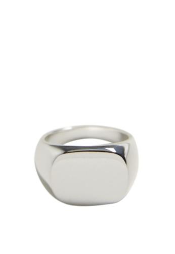 Mango silver Seal Ring 7EAB2AC08E72FDGS_1