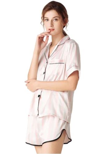 THE LOUNGE EDIT multi Kira Loungewear Shorts Set 18612AA3182CB9GS_1