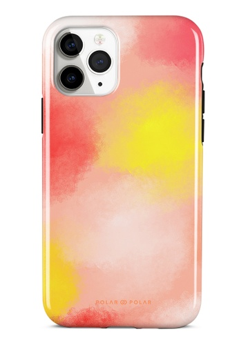 Polar Polar pink Clouds in Fall Dual-layer Tough Case Glossy for iPhone 11 Pro 7A913AC5D5B8BDGS_1