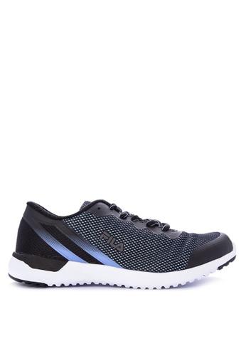 Fila Black And Multi F Emerge Running Shoes C6228sh55fe939gs 1