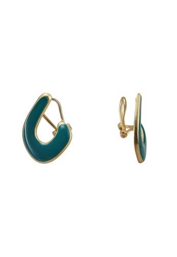 niko and ... green Abstract Earrings B1E1DAC75A4BB7GS_1