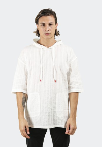 Celciusmen white Hoodies Short Sleeve B01183C 0A3AEAA9B5975BGS_1