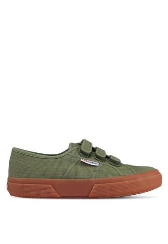 Superga green Cotu3Strapu Sneakers CB7D8SH147CF74GS_1