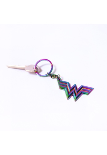 DC Comics Wonder Woman Metal Casted Keychain 13CFAHLBDD695AGS_1