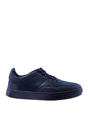 Hush Puppies navy Hush Puppies Men's Carlito Casual Sneaker Navy 67037SHF8BB3D7GS_1