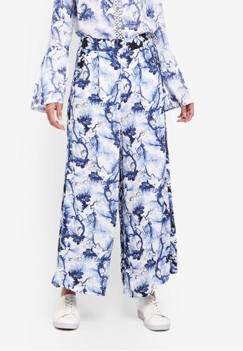Desigual blue Boston Long Pants 555BAAA770683EGS_1