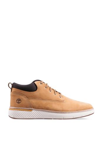 Timberland brown Cross Mark Chukka Shoes 64B6ESHCB60280GS_1