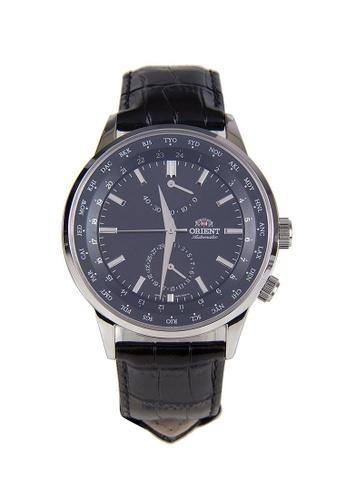Orient black Orient World Time Men Watch Multi-Function Automatic ORSFA06002B B023BAC158BB9FGS_1