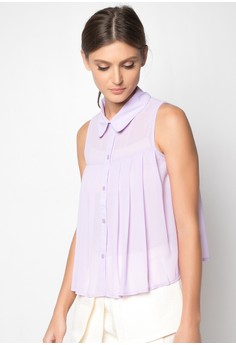 Desiree Pleated Top