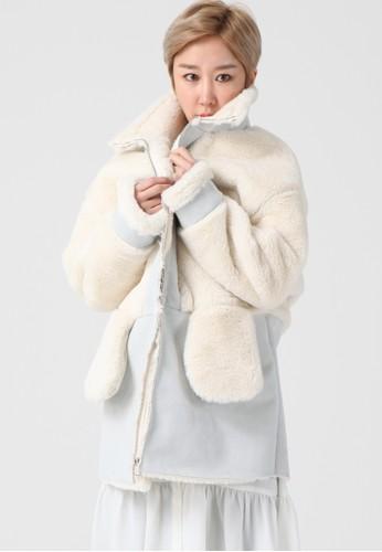韓流時尚 雙面粉彩野馬外套 F4esprit hong kong124, 服飾, 夾克 & 大衣