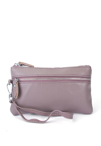 HAPPY FRIDAYS Stylish Litchi Grain Leather Clutch Bag JN2021 7D8E5AC1197BEDGS_1