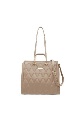 Valentino Creations beige Valentino Creations Rozel Shoulder Bag B9D64ACEF9F5A0GS_1