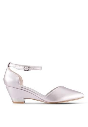 VINCCI gold Pointed Toe Heels VI831SH0SY93MY_1