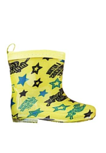 Twenty Eight Shoes 黃色 VANSA 時尚短筒雨靴 VSK-R004 5C2E2KS702BFF4GS_1