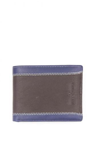 midzone brown Genuine Leather Wallet MI949AC18BKBMY_1