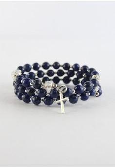 Lapis Lazuli Rosary Bracelet