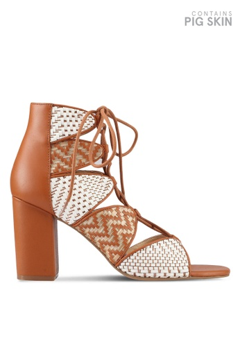 E8 by Miista white and brown Anabella Weave Heels E8283SH0STILMY_1