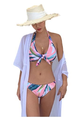 Halo multi Printed Swimsuit Bikini 5DEA2US0E4B72FGS_1