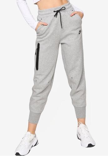 Nike grey AS Women's Nike Sportswear Tech Fleece Pants 05F83AAB6B5530GS_1