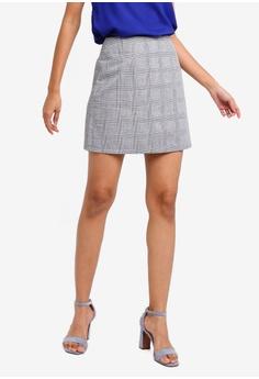 bae23a0413 ZALORA BASICS multi Basic Mini Checked Skirt C7B41AA74C80CFGS_1