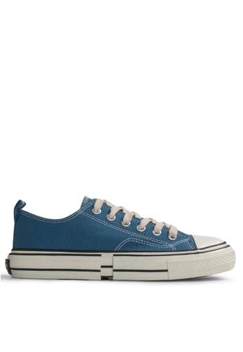 Twenty Eight Shoes Canvas Platform Sneakers XO-09-2 EAF04SH76EF23CGS_1