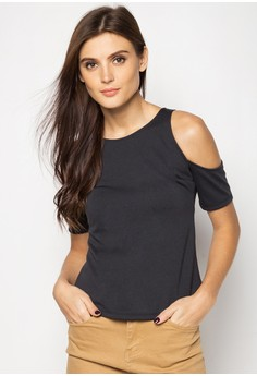 Kaela Cold Shoulder Top