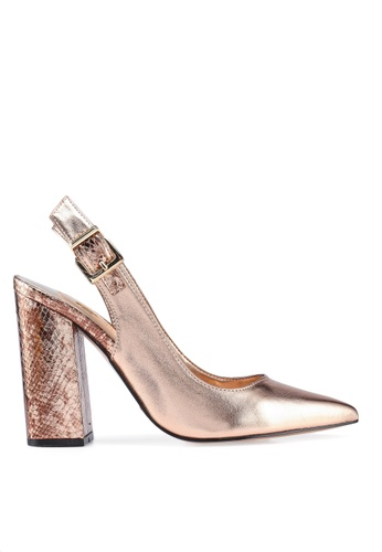 63112c36226 Buy River Island Cally Block Heels Sling Back Court Online on ZALORA  Singapore