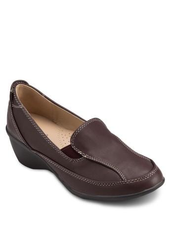 esprit 兼職低跟楔型跟樂福鞋, 女鞋, 楔形鞋