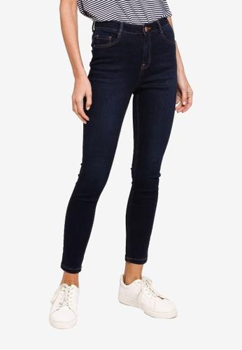 Dorothy Perkins blue Indigo Shape & Lift Jeans C0104AA45B4E4DGS_1