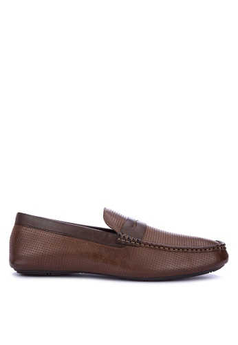 Mendrez brown Zed Loafers & Moccasins 09645SHB79D990GS_1