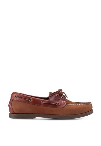 Lumberjacks brown Boat Shoes C3C07SH17CE434GS_1