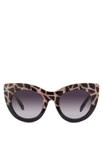 JP0150 zalora 手錶貓眼太陽眼鏡, 飾品配件, 飾品配件