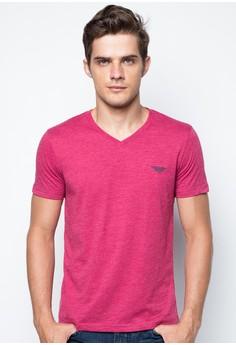 Plain V-Neck T-shirt