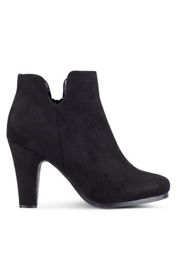 ZALORA black MF Ankle Boots 0D80EZZC0104D2GS_1