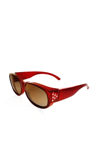 ASLLY red and multi Full covered│Red Fit over sunglasses C1486GLCF17F47GS_1