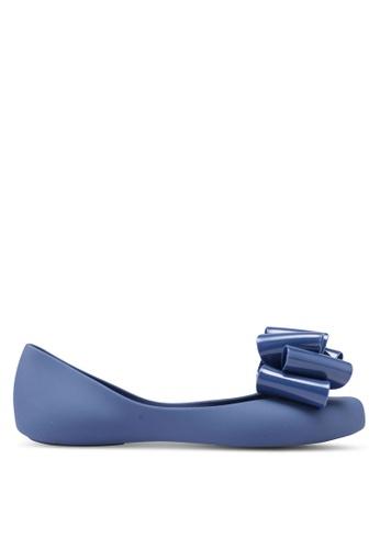 Twenty Eight Shoes 藍色 蝴蝶結平底鞋 EA048SHB55FE0AGS_1