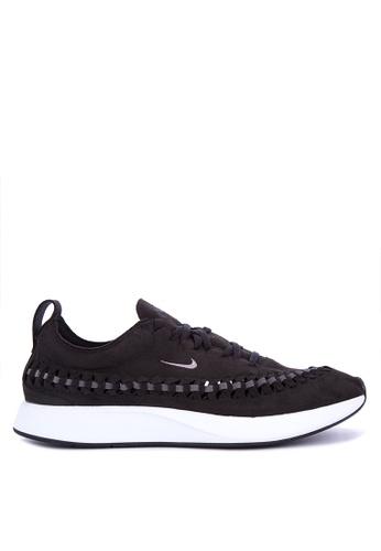 Nike black and white Men's Nike Dualtone Racer Woven Shoes 676BASH5131A79GS_1